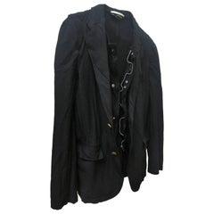 Comme des Garcons Homme Plus Boiled Black Jacket AD 2010