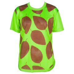Comme des Garçons Homme Plus Mesh T-shirt Neon Green, 2000