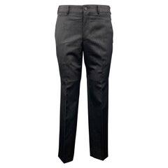 COMME des GARCONS HOMME PLUS Size M Black Sparkle Wool Blend Dress Pants