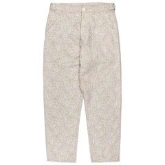 Comme des Garçons Homme Plus SS2000 Gobelins Floral Tapestry Trousers