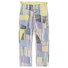 Comme des Garçons Homme Plus SS2000 Patchwork Trousers