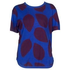 Comme des Garçons Homme Plus T-shirt Blue Leaf, 2000
