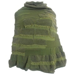 Comme des Garçons Junya Watanabe 2006 Collection Military Knitted Poncho