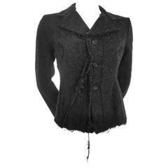 Comme des Garcons Junya Watanabe Wool Frayed Edge Jacket AD2003