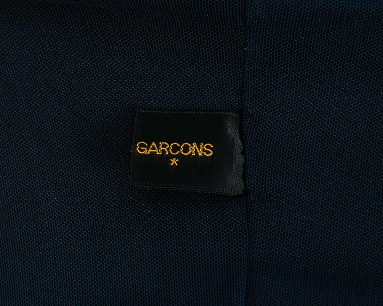 Comme des Garcons 'Lumps and Bumps' navy wool padded jacket, ca. 1997 For Sale 5