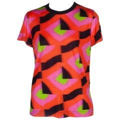 Comme des Garçons Multi-Color Knit T-shirt, 2015