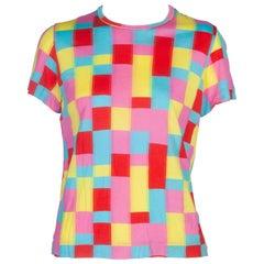 Comme des Garçons Multi-Color Patchwork T-shirt, 2001