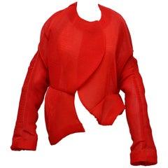 Comme Des Garcons Runway'97 'Body Meets Dress' 'Bump' Collection Organza Jacket