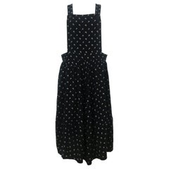 Comme des Garcons Salopette Overall Skirt Dress AD 2013
