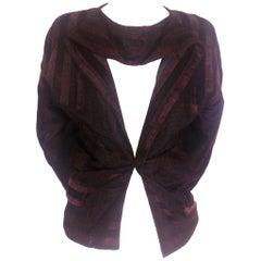 Comme des Garcons Split Collar Velvet Jacket 1990