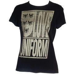 """Comme des Garçons T-shirt with """"Love Uniform"""" Print, 2008"""
