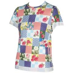 Comme des Garçons T-Shirt with Pattern Prints, 2005
