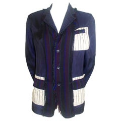 Comme des Garcons Tricot 2004 Cupro Deconstructed Jacket