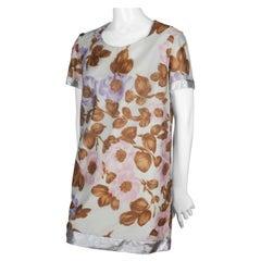 Comme des Garçons Tricot Floral Short Sleeve Dress, 1993
