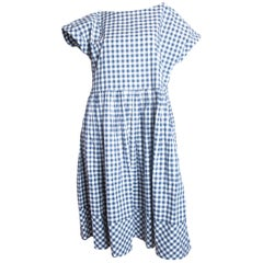 Comme des Garcons Tricot oversized gingham dress