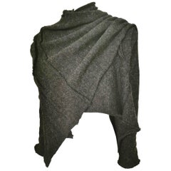 Comme Des Garcons Wool Knit Deformation Cardigan AD 2003
