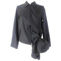 Commes des Garcons Black Padded Bear Jacket