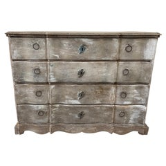 Commode Arbalete Duth Style, 19th Century in Patina