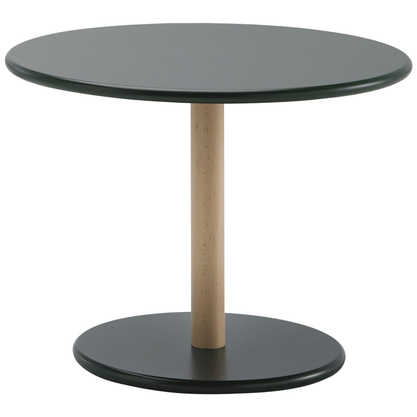 Viccarbe  Common Coffee Table, Black Finish H 17.7 inches by Naoto Fukasawa