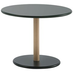 Viccarbe  Common Coffee Table, Black Finish H45 by Naoto Fukasawa