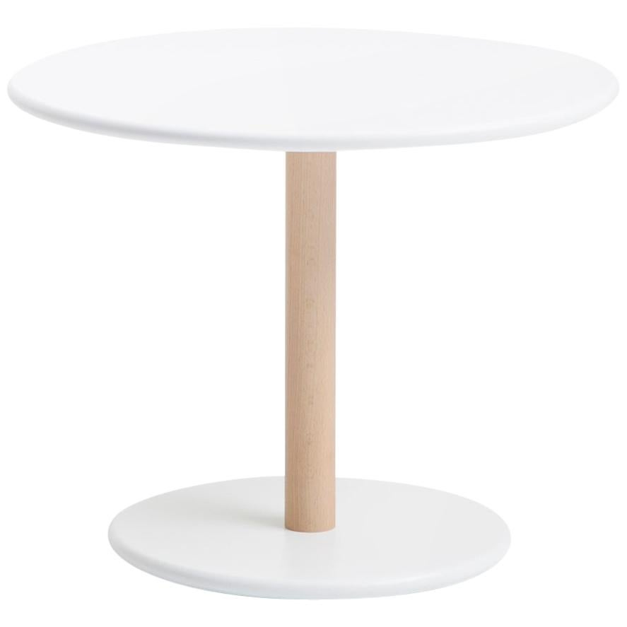 Viccarbe Common Low Table, White Finish H 17.7 inches by Naoto Fukasawa