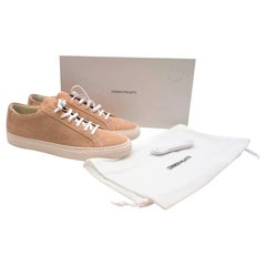 Common Projects Achilles Low Amber Suede Sneakers - Size EU 43