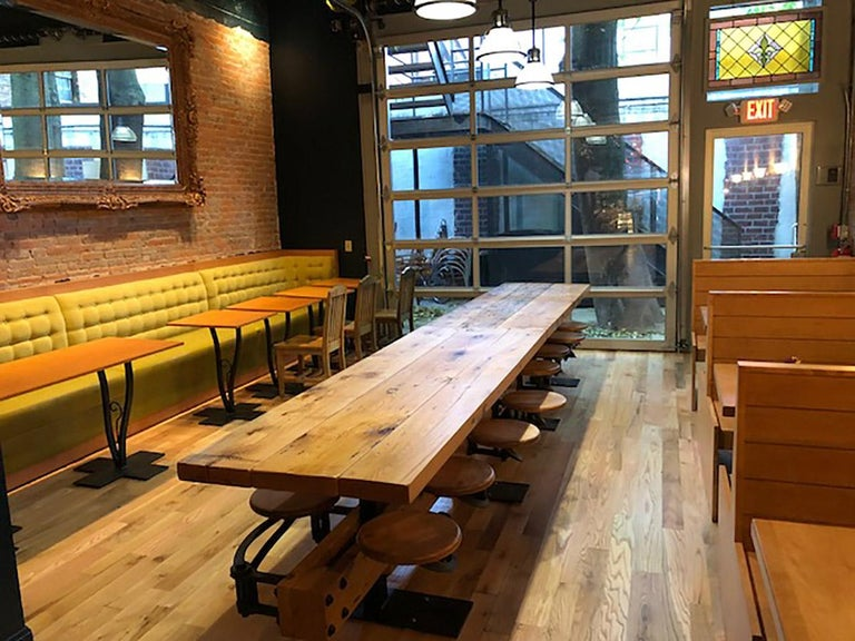 Communal Pub Height And Restaurant Dining Table For Sale