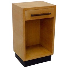 Compact Gilbert Rohde for Herman Miller American Ash Nightstand