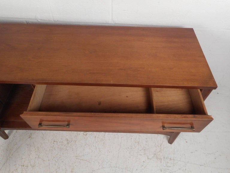 Late 20th Century Compact Mid-Century Kent Coffey Perspecta Credenza For Sale