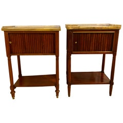 Comparable Pair of Smokers Cabinets Nightstands or Tables Maison Jansen Fashion