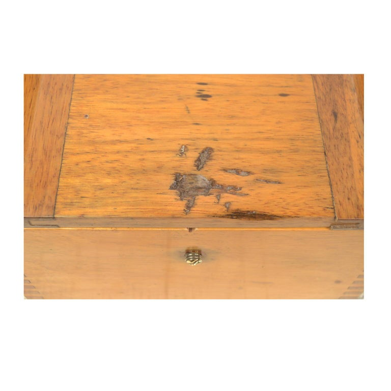 Compass in its Original Wooden Box Signed Sestrel Early 1900s For Sale 4