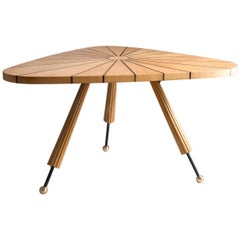 Compass Wooden Table by Sema Topaloglu