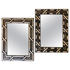 Compatible Console Mirrors in Hollywood Regency Style