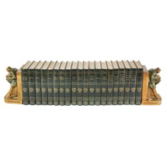 Complete Collection Gilt Leather Bound Book Set