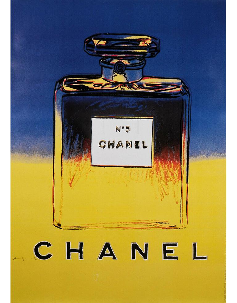 Complete Collection of Chanel Nº 5 Original Posters In Good Condition For Sale In Encino, CA