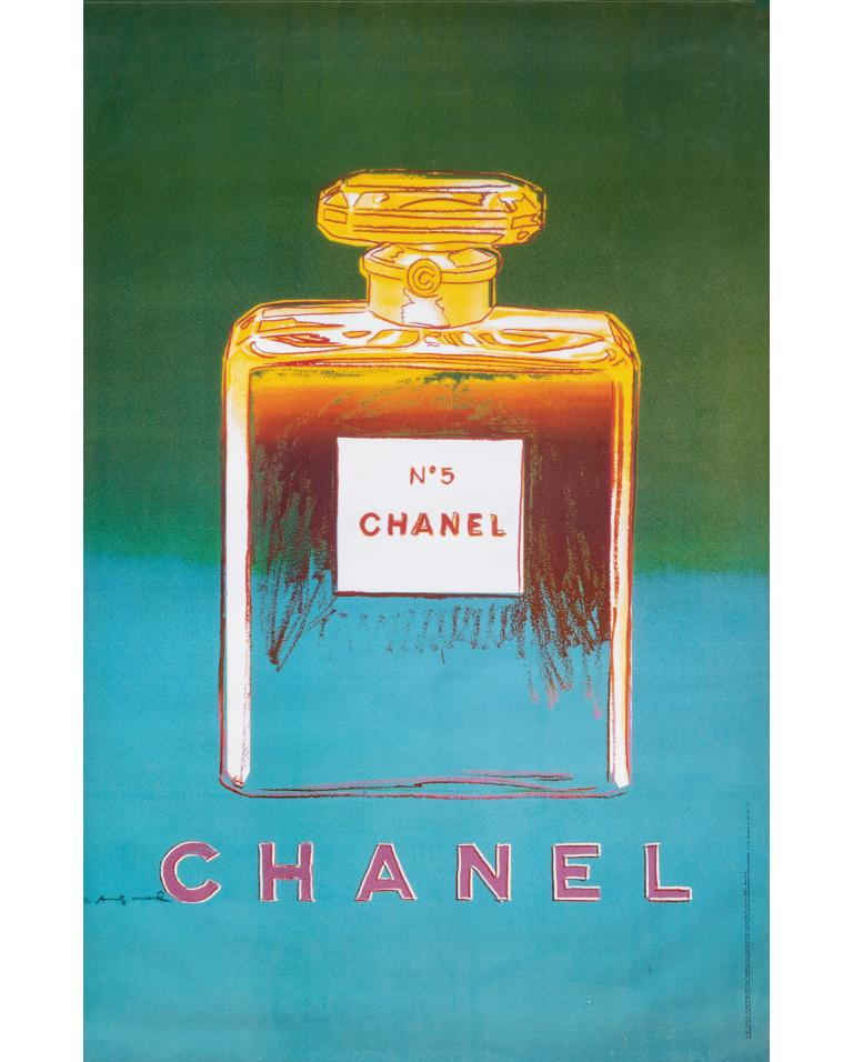 Late 20th Century Complete Collection of Chanel Nº 5 Original Posters For Sale