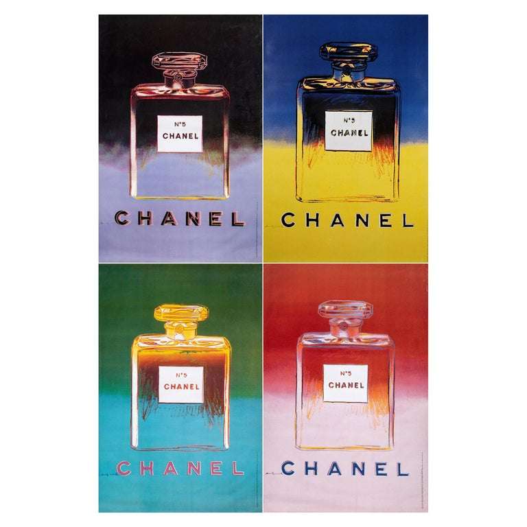 Complete Collection of Chanel Nº 5 Original Posters For Sale