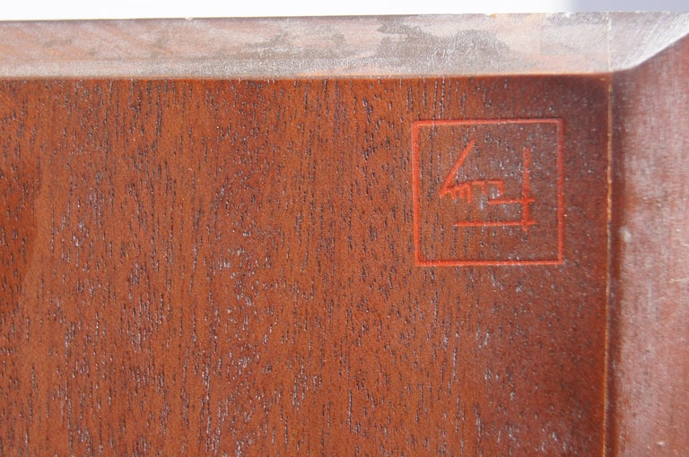 Mahogany Complete Taliesin Coffee Table Set by Frank Lloyd Wright for Heritage-Henredon For Sale