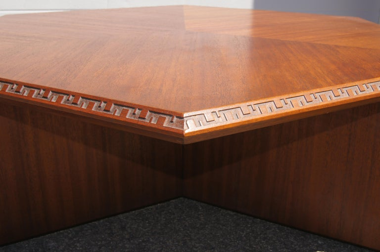 American Complete Taliesin Coffee Table Set by Frank Lloyd Wright for Heritage-Henredon For Sale