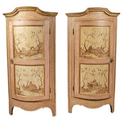 Completely Original, 18th Century Corner Cabinets