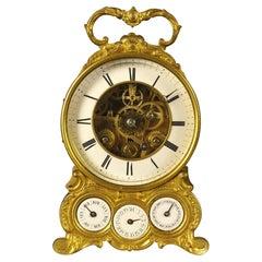 Complex Calendar Carriage Clock with Duplex Escapement
