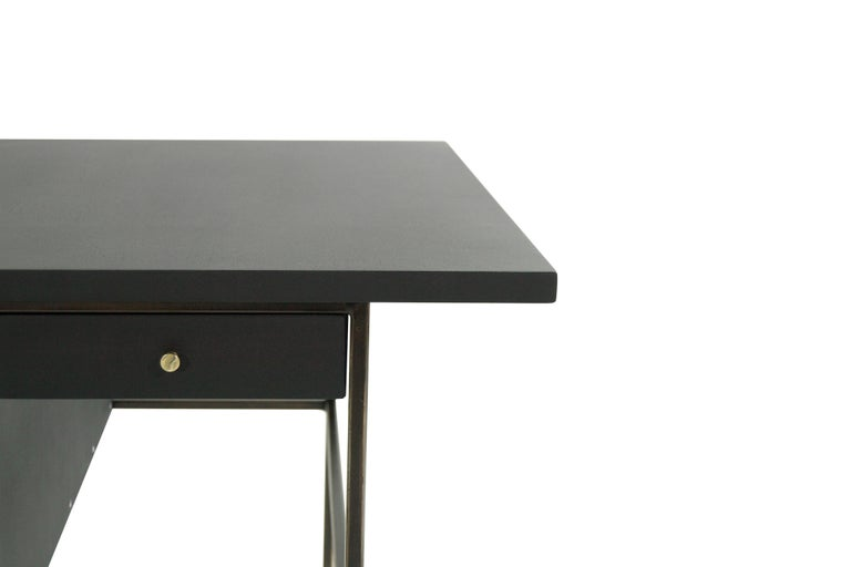 Complimenting Set of Bronze End Tables by Paul McCobb For Sale 4