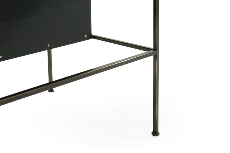 Complimenting Set of Bronze End Tables by Paul McCobb For Sale 5