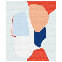 Composition X Hand Knotted Wool and Silk Rug