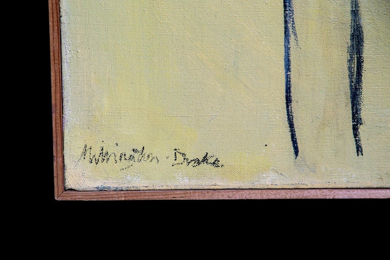 Oil on canvas, Villa Albrizzi - Veneto, 1963  Teddy Millington-Drake (1932-1994) was a nomad, linguist, bon viveur, aesthete and master gardener, but above all an artist.  Discharged from service and in part inspired by his sister's anecdotes of