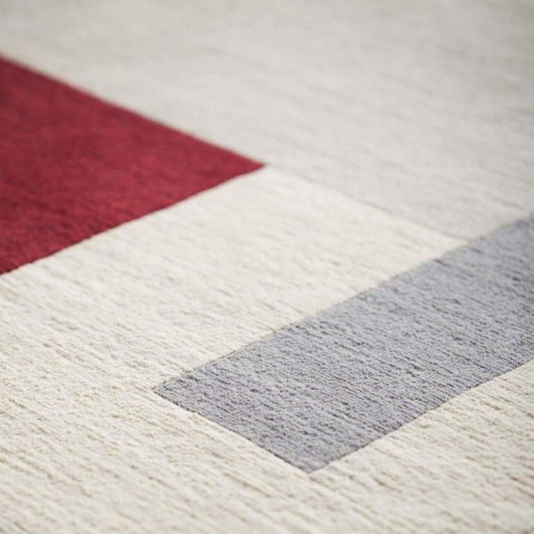 Italian Composizione 57 12 Carpet by Manlio Rho For Sale