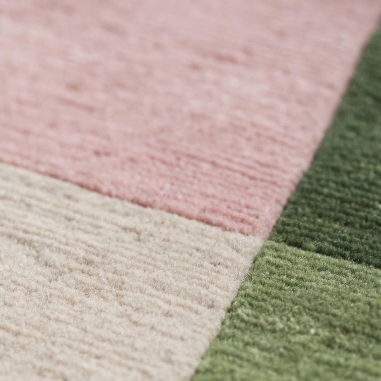 Composizione 57 12 Carpet by Manlio Rho In New Condition For Sale In Milan, IT