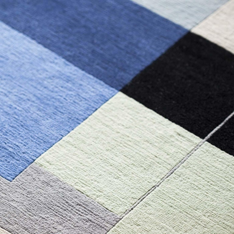 Contemporary Composizione 57 12 Carpet by Manlio Rho For Sale