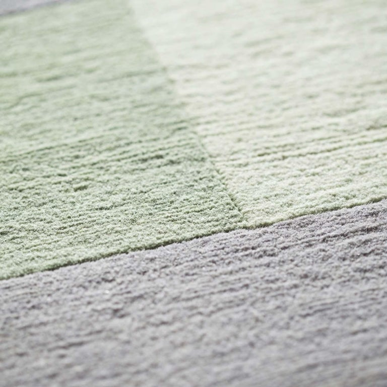 Textile Composizione 57 12 Carpet by Manlio Rho For Sale