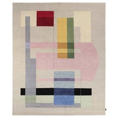 Composizione 57 12 Carpet by Manlio Rho